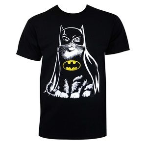 Batman Cat Tee Shirt (Officially Licensed)